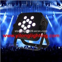 4 in 1 RGBA LED dmx christmas lights,flat LED par cans,dj up light