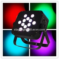 12x15w RGBAW wedding decoration light slim par