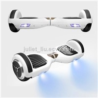 White Smart Self Balancing Electric Scooter balance 2 wheels Mini Balance Car