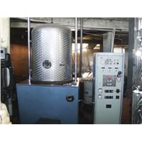 bell jar vacuum metallizer