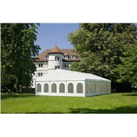 Custom size white sidewall party wedding canopy clear span shelter tent in china