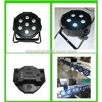 7x10w RGBW LED strobe light,high power LED par64,LED par56,dj up light