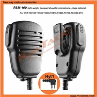 Communication equipment remote speaker microphone speaker professional for two way radio