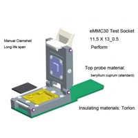 eMMC30 Test Socket BGA153 BGA169 eMMC nand flash test socket