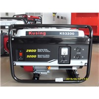 3kVA Electric/Recoil Start Air Cooling Gasoline/Petrol Generator