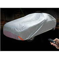 Solar Powered Automatic Car Cover Easy to Control No Need Installation