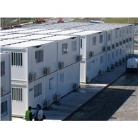 Street dismountable shop style the 20ft or any size small office container prefab office