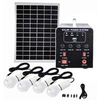 25W Solar Panel 12AH Deep Cycle AGM Battery DC Solar Energy Systems for Lighting FS-S904