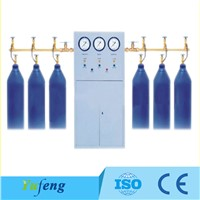 Gas manifold pipelines for medical oxygen