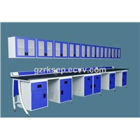 Laboratory Furniture wall bench/dental lab furniture
