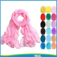 Lady Sunscreen Cral Chiffon Scarf