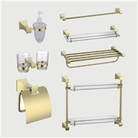 Bathroom Accessories set Towel Bar,Room Glass Shelf,towel ring
