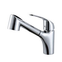 ProMotion Ceramic spool Single-Hole brass Kitchen Sink Faucet