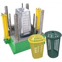 custom oem injection plastic laundry basket mould