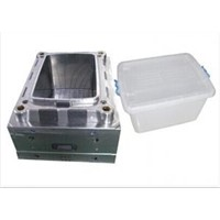 custom oem injection plastic storage container mould