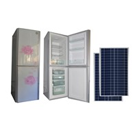 288 Liter Solar Powered DC Refrigerator /Fridge with Solar Panel Lithium Battery Controller