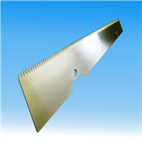 Paper cutting saw blades serrated knives