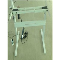 single motor electric adjustable desk