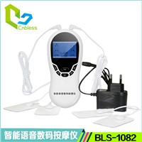 EMS Tens Massager Colorful LCD Display Therapy Machine BLS-1082