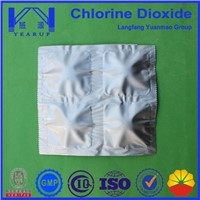 1g/tablet Disinfection Chlorine Dioxide Tablets for Industry Wastewater  Treatment