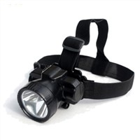 Mini Torch Bendable LED Bike Headset with Long Lighting Throw Distance