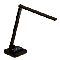QI Wireless Mobile Charging Smart LED Flexible Desktop Light with USB Port