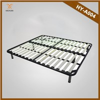 Dongguan Haoyuan Furniture Foldable Metal and Wooden Slats Bed Frame HY-A004