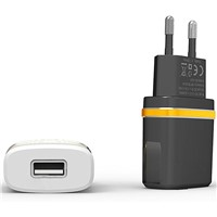 2A Dual USB Travel Adapter Charger for Mobile Devies Eur Plug