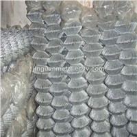 Hot Dip Galvanized Chain Link Fence Mesh
