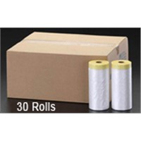 High quality Masking film(140cm*25m) Plastic sheeting rolled as economically cheap wholesale