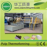 recycling waste paper pulp molding machine ,egg tray machine