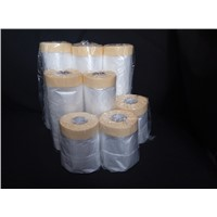 High quality Masking film(55cm*25m) Plastic sheeting rolled as economically cheap wholesale.