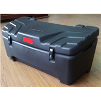 Durable 150Liter One-piece Rotomolded Black 250cc ATV Cargo Box for Honda Suzuki ATV