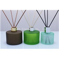 hot - selling diffuser bottle with silver/ gold lid, reed diffuser bottle with reed stick