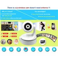 Plug and Play 720P wifi IP P/T camera, smart home security wireless IP camera baby monitor