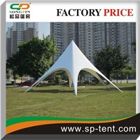 aluminium frame whosaler diameter 8m marquee star tent  with pvc fabric for  outdoor party, event