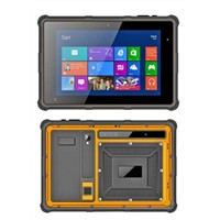 Factory 8 inch Intel Bay-Tray Z3735F Quad-core rugged tablet windows IP65 4g mobile computer