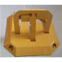 M Shape Manual Type Vehicle Parking Space Barrier/Lock M2