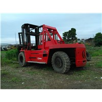 Used condition Kalmar 25t stacking machine second hand kalmar 25t forklift/lifter for sale