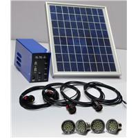 10W portable solar power system