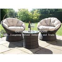 MTC-226 garden furniture bistro cozy set ,rattan furniture,wicker set
