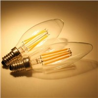 2W 3W 4W 220V 110V Dimmable E14 E12 Candle LED Bulb