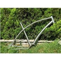 titanium road bicycle frame