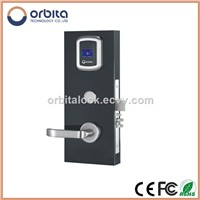 Stainless Steel Smart Card Electronic RFID Hotel Lock system, Hotel lock