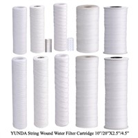 NSF42 certified Cotton string wound water filters