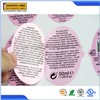 Printing easy peel back label sticker