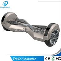 8 Inch LED Bluetooth Electric Self Balancing Scooter Board with 2 Wheels for Adults Kids