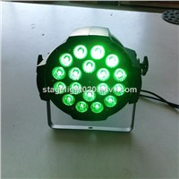 cheap 18x15w RGBAW 5 color LED strobe light dmx LED factory light