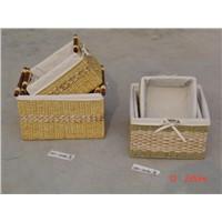 straw basket s/3