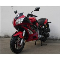 150cc Street Motorcycle with Automatic Transmission, 13inch Tires, Electric and Kick Start